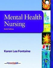 Mental Health Nursing by Karen Lee Fontaine (2008, Paperback) With CD