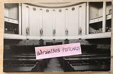 HELSINKI HOUSES OF PARLIAMENT INTERIOR c1930s Plain Back RPPC REAL PHOTOGRAPH