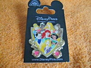 DISNEY PRINCESSES DOUBLE PIN BADGE