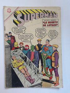 SUPERMAN #519 - ORIGINAL COMIC IN SPANISH - MEXICO - NOVARO