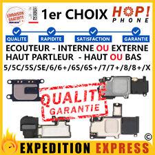 ÉCOUTEUR INTERNE /EXTERNE HAUT PARLEUR IPHONE 5 /5C /5S /6 /6S /7 /8 /PLUS /X