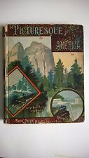 Picturesque Journeys In America 1883 1st Edition Junior Untied Tourist Club