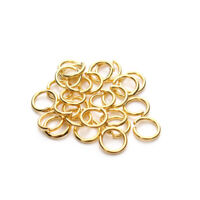 200pcs Metal Jump Rings Multi-colored Open Split Ring Connectors All Size&colors
