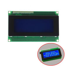 Blue Serial IIC/I2C/TWI 2004 204 20X4 Character LCD Module Display For ArduinoWG