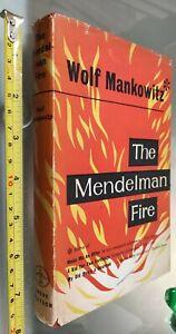 GG LIBRO:  THE MENDELMAN FIRE - WOLF MANKOWITZ - ANDRE DEUTSCH 1957