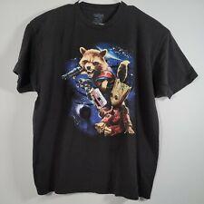 Guardians of the Galaxy Vol. 2 Marvel T Shirt Size 2XL Groot & Rocket