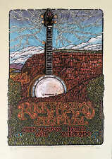 RockyGrass Festival Poster 2019 Original Signed Silkscreen Gary Houston w/COA