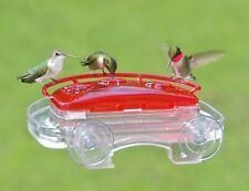 New listing Aspects Jewel Box Window Hummingbird Feeder 8oz capacity, 3 feeding ports