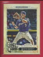 Scooter Gennett 2017 Topps Gypsy Queen Card # 80 Cincinnati Reds Baseball MLB