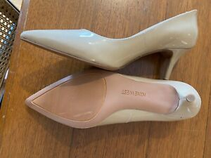 Nine West beige heels size 6.5 - as new condition
