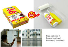 Frost Protection APPLYING THERMAL BARRIER PAINT - HEAT ON