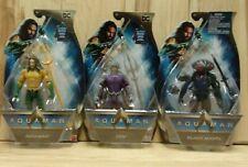 Dc Comics Aqua Man Movie Character Action Figures (Aquaman, Orm, Black Manta)