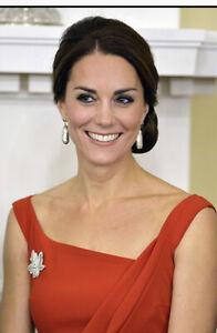 New Soru Baroque Pearl Gold Dangle Earrings Aso Royal Kate Middleton