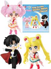 Japan BANDAI Sailor Moon Eternal ChibiMasters Gacha Capsule Toy
