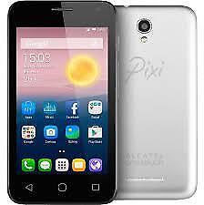 "Telefono Cellulare Alcatel Pixi 4 (5) 4g 5045d-2balwe1 5"" 8 GB Bianco"