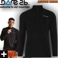 Dare2b Jacket Mens Freeze Lightweight Fleece Sport Hiking Outdoor Run Gym Top
