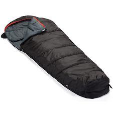 skandika erwachsene Schlafsack Alaska (rv Links) schwarz M