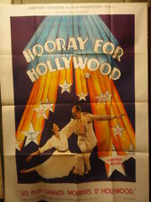 HOORAY FOR HOLLYWOOD/ 1982/ FRED ASTAIRE/ CYD CHARISSE/ COMEDIE MUSICALE