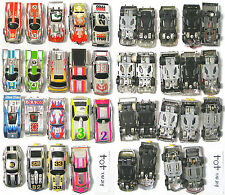 19pc 1976-1981 TYCO Curvehugger & HP2 CHROME HO Slot Car Collection Nice Lot404