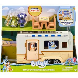 Bluey Caravan Playset Adventures