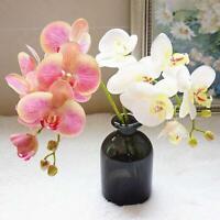 Weiß 1 Stk. 1 Verkaufe 55cm künstliche Schmetterlingsorchideen-Hochzeitsblumen