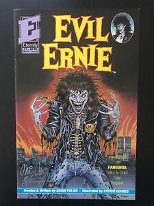 Evil Ernie #1 1991 First Printing Original Eternity Comic Book 1st Print