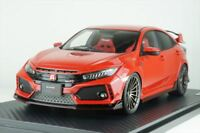 ignition model 1/18 Honda Civic (FK8) Type R Red IG1449 EMS w/ Tracking NEW