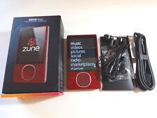 MICROSOFT  ZUNE  RED  80GB...NEW BATTERY...