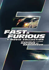 Fast and Furious 7-Movie Collection (DVD, 2016, 8-Disc Set) Brand New