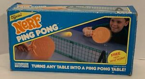 Nerf Ping Pong by Parker Brothers, Vintage from 1987