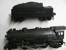 Lionel # 225E ( Grey ) w/ 2245W & 1630 - 1630 - 1631 Passenger Cars ( Prewar )