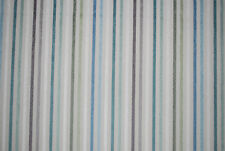 """Catalan Stripe"" soft furnishing fabric by John Lewis, duck egg, remnant 1.9m"