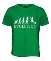 Calciatore Evolution Of Men da Uomo T-Shirt Maglietta Regalo Calcio