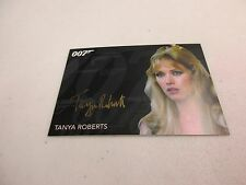 2017 James Bond Archive Letzte Edition Tanya Roberts als Stacey Gold Autogramm