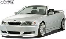 "RDX Bodykit BMW E46 Spoiler-Set ""E92 Look"" Front Heck Stoßstange Seitenschweller"