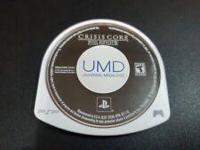 Crisis Core Final Fantasy VII 7 Original Release Playstation Portable PSP EX+NM