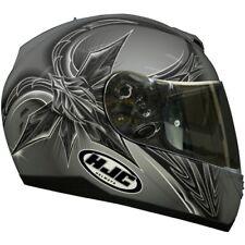 HJC casco fs-11 tapetop mc-5 Titan-plata-blanco talla xl/62