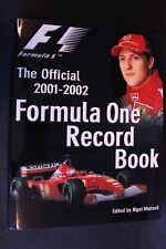 E-press Book The Official 2001-2002 Formula One Record Book, Nigel Mansell