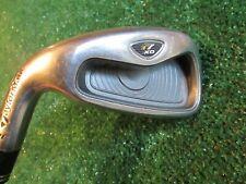"Golf TaylorMade rac r7 XD 5 Iron LH Original R Flex Steel Winn Grip 39 1/4"" VGC"