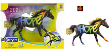 Breyer 62121 Classic Scale Hope 2021 Horse of the Year Black Rainbow Model New