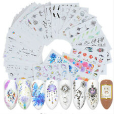 48X DIY Slider Nail Stickers Water Temporarry Tattoo Manicure Nail Art Deco New