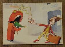 Carte postale Compost'horreur,Daniel Menneboeuf,composteur humour  ,postcard