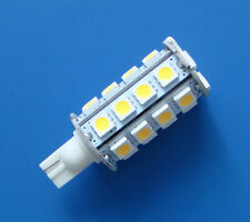 1x T10 921 194 SMD bulb DC12V Interior light 30-5050 SMD LED, Warm White  #T30B