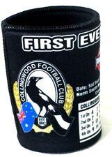 89589 COLLINGWOOD Vs ST KILDA 2010 AFL GRAND FINAL DRAW CAN STUBBY COOLER HOLDER