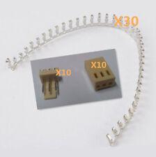 30pcs KF2510-3P 2.54mm Pin Header + 10*Terminal + 10*Housing Connector Kits