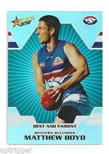 2012 Champions Best & Fairest (BF17) Matthew BOYD Western Bulldogs