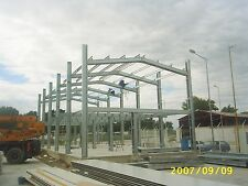 Office Building - Galvanised Steel Frame for Industrial and Commercial Use