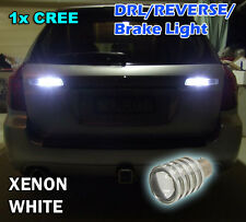 1x MERCEDES Xenon White LED Reverse Lights - 1156 BA15s P21W amg CREE W204