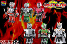 Medicom Masked Rider Kamen Rider Dragon Knight Kubrick - 6pcs set