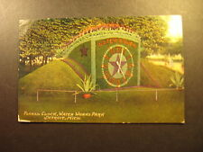 Floral Clock, Water Works Park, Detroit, Mi., about 1910, used postcard